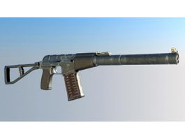 AS Val Special Automatic Rifle 3d preview