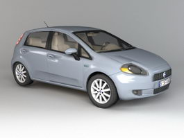 Fiat Punto Hatchback 3d preview