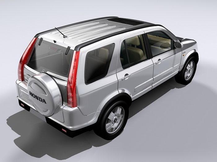 Honda CR-V Compact Crossover SUV 3d rendering