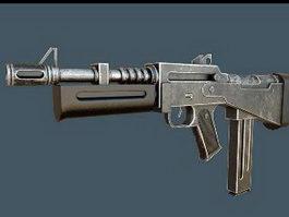 Modern Submachine Gun 3d preview
