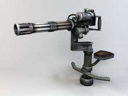 Anti Air Minigun 3d preview