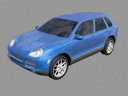 Porsche Cayenne 3d model preview