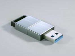 USB Drive 3d preview