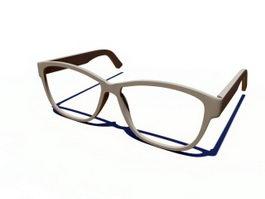 Glasses Frame 3d preview