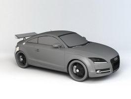 Audi TT 3d model preview