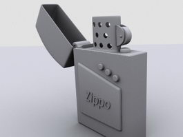 Vintage Zippo Lighter 3d preview