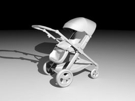 Baby Carriage 3d preview