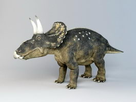 Diceratops Dinosaur 3d preview