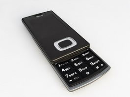 LG KG800 Mobile Phone 3d preview