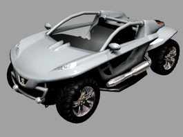 Peugeot Hoggar Concept 3d preview