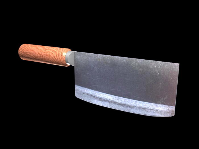 Kitchen Knife 3d rendering