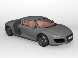 Audi R8 Coupe 3d preview