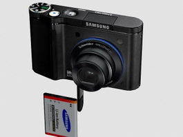 Samsung NV8 Digital Camera 3d preview