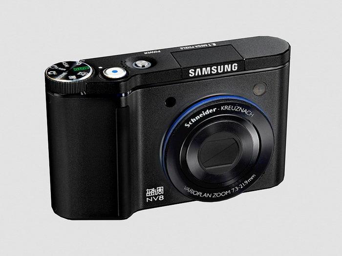 Samsung NV8 Digital Camera 3d rendering