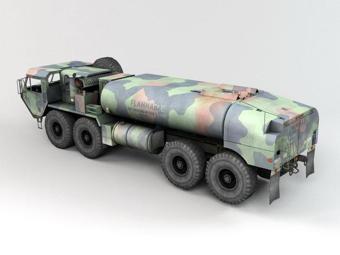 HEMTT M978 Mobility Tactical Truck 3d rendering
