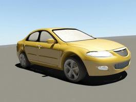 Mazda 6 Sedan 3d preview