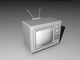 Vintage Television 3d preview