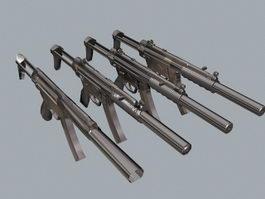 HK MP5 Gun 3d preview