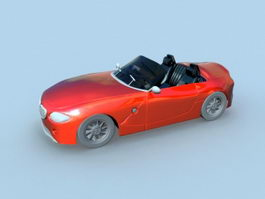 BMW Z4 Red 3d preview