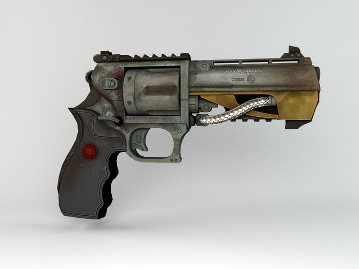 Singularity Centurion Pistol 3d rendering