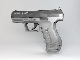 Walther P99 Pistol 3d preview
