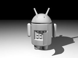 Android Robot 3d preview