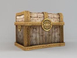 Treasure Chest 3d model preview