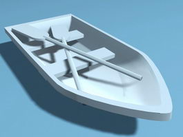 Rowboat 3d preview