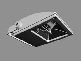 Reflector Lamp 3d preview