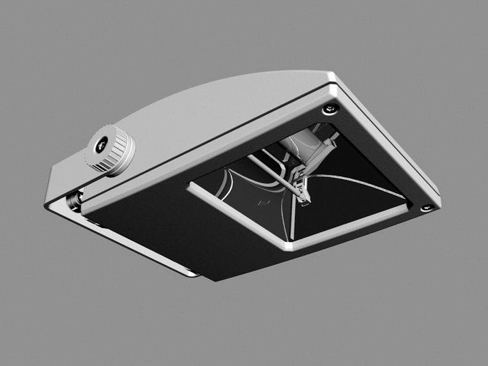 Reflector Lamp 3d rendering
