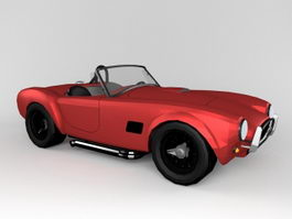Classic Roadster 3d preview