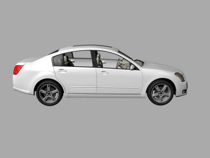 Nissan Maxima 3d rendering