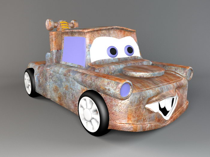 Cars Toon Mater 3d rendering