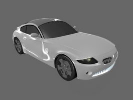 Sports Coupe Car 3d preview