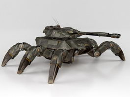 Giant Spider Tank 3d preview