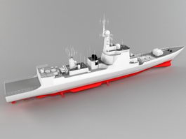 Type 052C Destroyer 3d preview