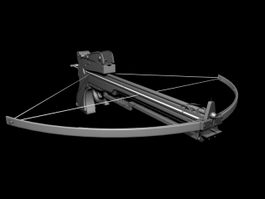 Military Compound Crossbow 3d model preview