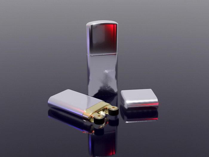 Windproof Lighter 3d rendering