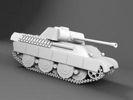 Leopard 1 Tank 3d preview