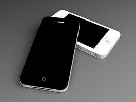 iPhone 4 Smartphones 3d preview