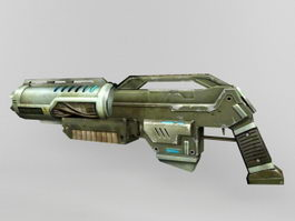 Sci-Fi Pulse Rifle 3d preview