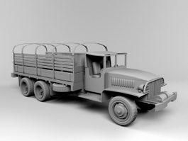 GMC Truck 3d preview