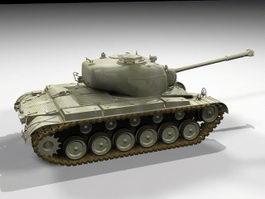 M26 Pershing Tank 3d preview