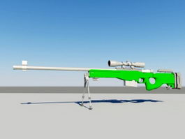 AWP Sniper Rifle 3d preview