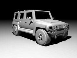 Hummer H1 Sport Utility Truck 3d preview