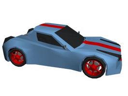 Cartoon Car 3d preview