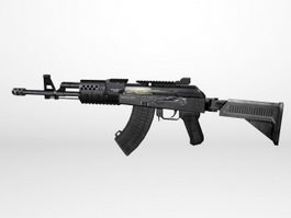 AK-74M Assault Rifle 3d preview
