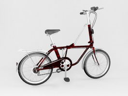 Street Bicycle 3d model preview