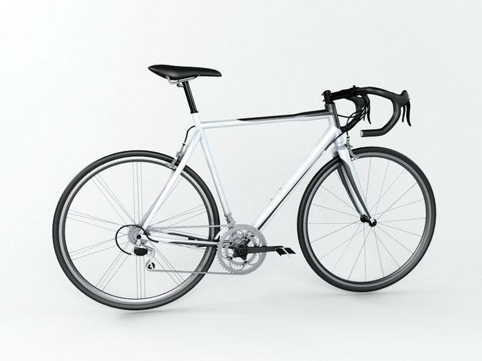 Road Racing Bike 3d rendering