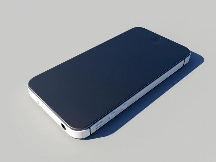 Apple iPhone 3d rendering